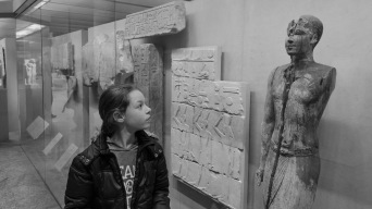 Admiring egypt