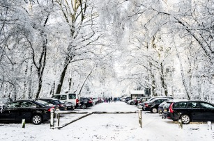 Carpark in the Snow