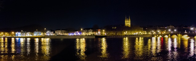 Angers by night