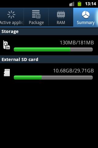 Samsung Galaxy Ace Insufficient Internal Memory Problem