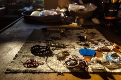 Her self made Jewels