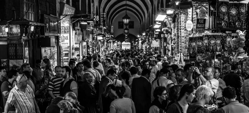 The Busy Bazaar