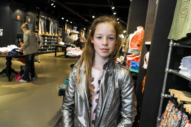 Her new jacket