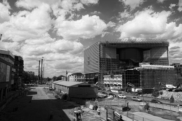 Construction of New Vredenburg