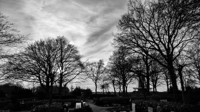 Cemetery and Mill