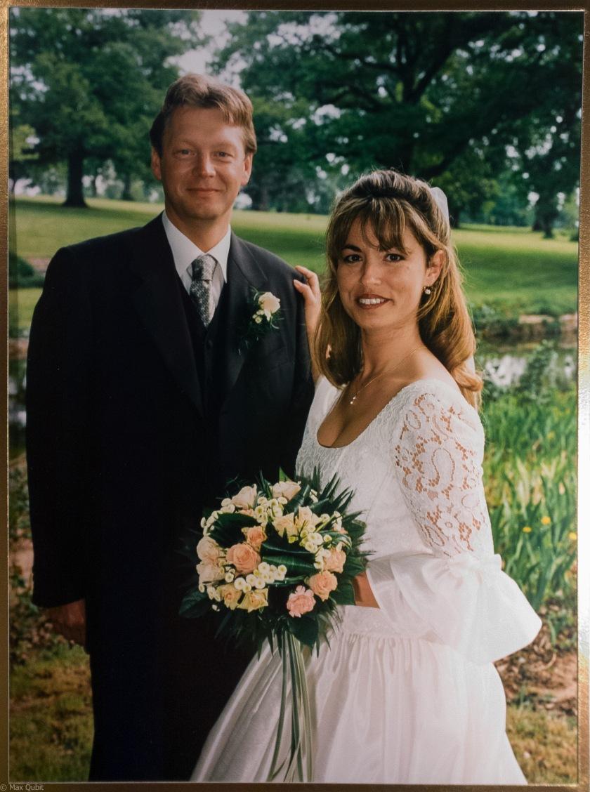 Sarah and me. May 9th, 1998 (France)