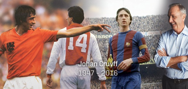 Johan Cruijff ( 1947 - 2016 )