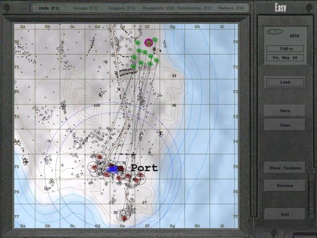 Battle at Le Port